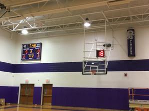 Andover Gymnasium Scoreboard & Sound System