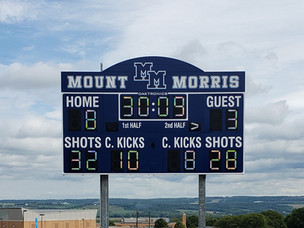 Mt Morris Stadium Scoreboard