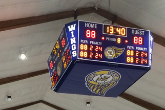 West Seneca Ice Rink Scoreboard