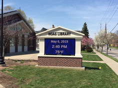 Hoag (Albion) Library Message Center