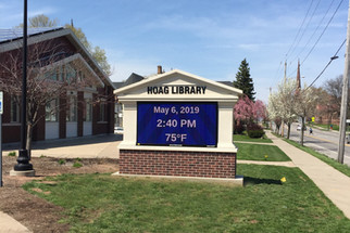 Hoag Library Message Center