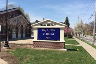 Hoag Library Message Center