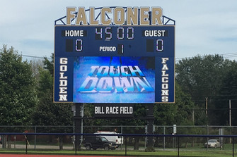 Falconer Stadium Scoreboard