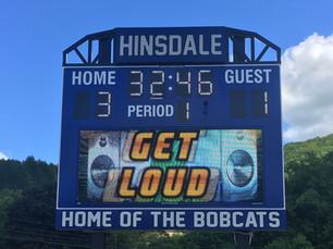 Hinsdale Stadium Scoreboard