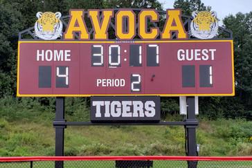 Avoca Multisport Scoreboard