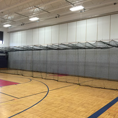 Medina Batting Cage - Down Position