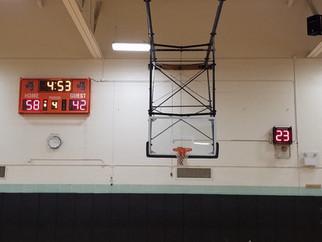 McKinley High School Gymnasium Scoreboard