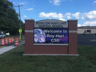 Royalton Hartland Message Center