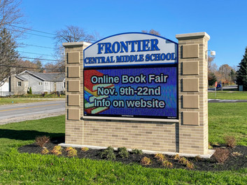 Frontier Middle School Message Center