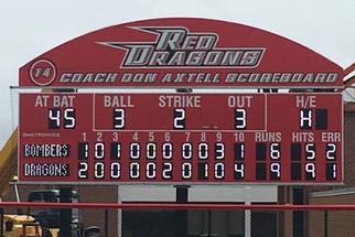 SUNY Oneonta Baseball Scoreboard