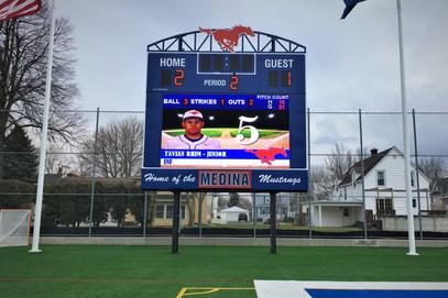 Medina High School Stadium Scoreboard