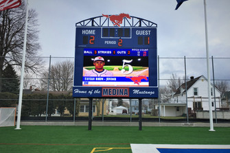 Medina High School Stadium Scoreboard