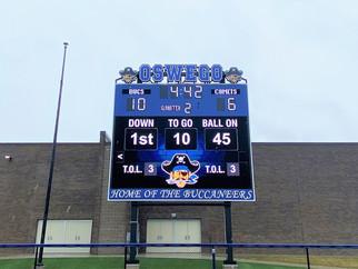Oswego Stadium Scoreboard