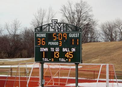 Fayetteville Manlius Stadium Scoreboard