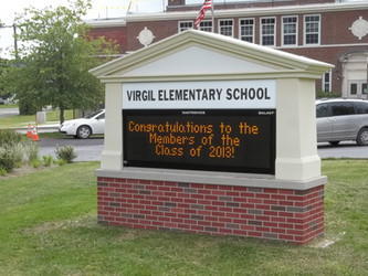 Virgil Elementary School Message Center