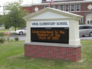 Virgil Elementary School Message Center
