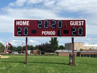 Elba Football Scoreboard