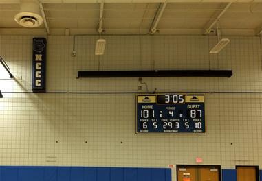 Niagara County Community College Gymnasium Scoreboard & Sound System