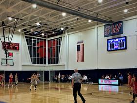Southwestern High School Gymnaisum Scoreboard & Video Display