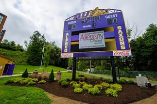 Alfred University Stadium Scoreboard