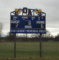 Oakfield Alabama Baseball Scoreboard