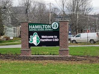 Hamilton Central School Message Center