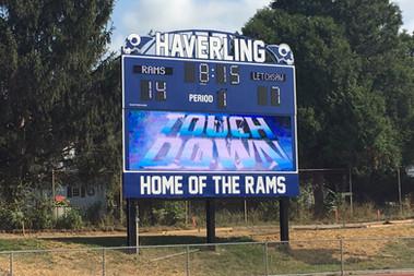 Haverling High School Stadium Scoreboard