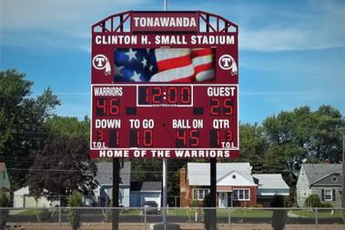 Tonawanda Stadium Scoreboard