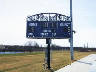 Grand Island Rotating Scoreboard