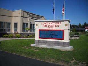Cortlandville FD #1 Message Center