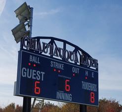 Chautauqua Lake Baseball Scoreboard