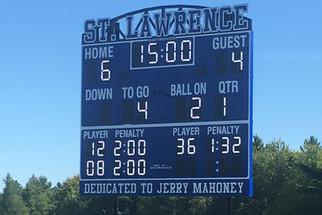 Brasher Falls Stadium Scoreboard