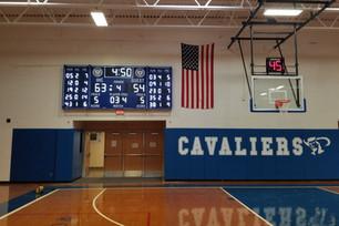 Immaculate Heart Gymansium Scoreboard