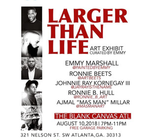Larger Than Life Art Exhibit