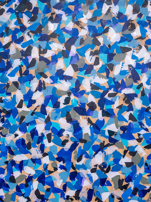 Hues of Blue -  Print