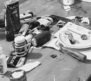Art materials, Paint, Spatula