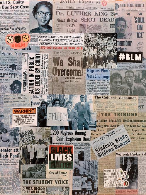 We Shall Overcome -  Print