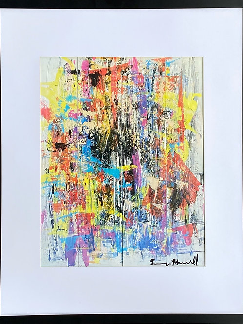 Move Your Body - Framed Print