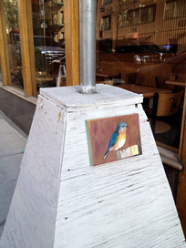 Bluebird of Happiness, Displayed Second Ave., New York City