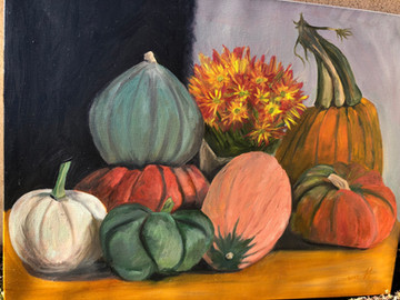 Squashes and Flowers
