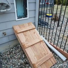 Dog Door Ramp