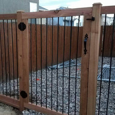 Fence with Gate