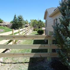 NEW Split Rail Fence