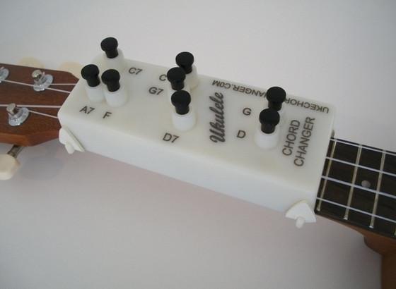 Ukulele Chord Changer - ukulelesointuja napin painalluksella