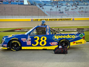 Gilliland and Speedco Look to Play Spoilers in Las Vegas