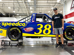 Gilliland Ready for Chess Match at Talladega Superspeedway