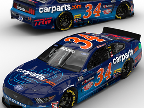 CarParts.com Carries McDowell and No. 34 Team into Month of August