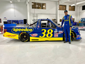 Gilliland Ready for Thursday Night Lights with Speedco and Luber-finer at Bristol Motor Speedway