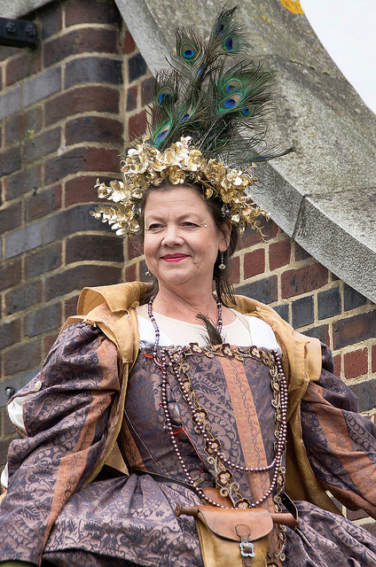 Elizabethan goddess