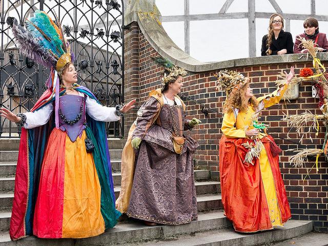 Three Elizabethan goddesses at London's Bankside